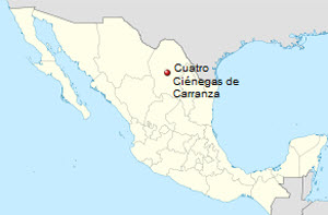 Terrapene Coahuila distribution